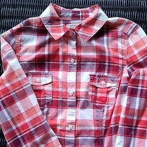 Old Navy Button Down Fitted Shirt XS